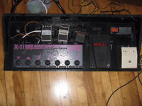 Pedal board et AB box, $85