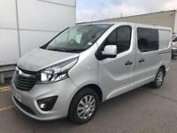 2018 Vauxhall Vivaro Dcab L1h1 1.6cdti Sportive Van Panel Van