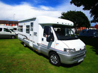 Laika Ecovip 7r four berth motorhome with fixed bed