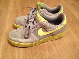 Nike AF1 trainers size 9