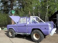 1974 Ford Bronco Pickup Truck