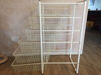Wire Drawer Storage Unit