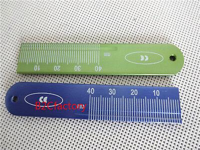 2pcs Endo Rulers Span Measure Scale Endodontic Dental Instruments