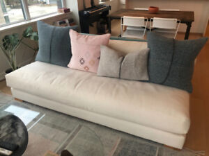 CB2 Piazza Armless Couch