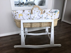 Jolly Jumper Baby Birdies Quilted Moses Basket