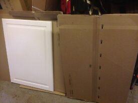 2x IKEA door BODBYN off-white 60x80 cm