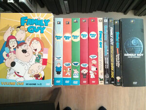 Family Guy DVD lot Seasons 1-7, 9 and extras Adult owned nice