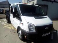 2013 Ford Transit 2.2TDCi ( 100PS ) ( EU5 ) ( RWD ) 350L Double cab 350 LWB DRW