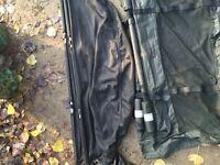 Trakker weigh sling left of pic