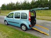 2012 Renault Kangoo 1.5 Dci RARE 4 SEATS Wheelchair Disabled Accessible Vehicle