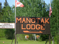 Cook Needed at Manotak Lodge