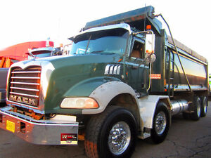 2010 Mack Twin Steer Dump