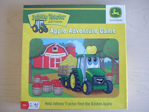 Johnny Tractor's Golden Apple Harvest Board Game