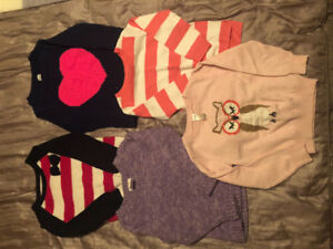 Toddler Girl Fall/Winter Clothes - Sz 4T