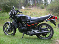 1982 Yamaha RD350LC Black 2 stroke Collector