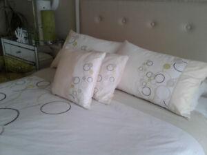 Duvet Set.. matching pillow coverings