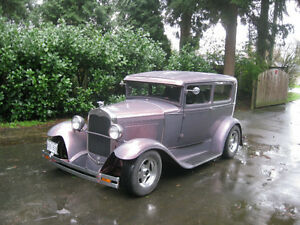 "1930 Ford Tudor sedan streetrod "" All Steel Chopped Top"""