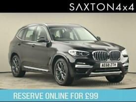 image for 2018 BMW X3 2.0 20d xLine Auto xDrive (s/s) 5dr SUV Diesel Automatic