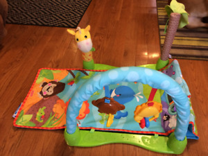 *Fisher Price* RAIN FOREST PLAY MAT in Excellent Condition