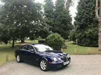 2004 Jaguar S-Type SE Automatic 2.7 Turbo Diesel 4 Door Saloon Blue