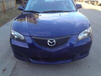 **EAGER TO SELL** 2004 Mazda 3 - best offer