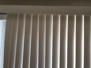 Vertical Blinds off white for a window like New