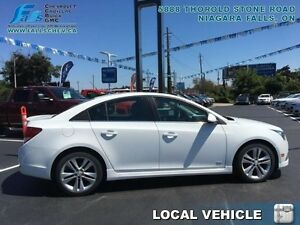 2014 Chevrolet Cruze 2LT  RS PACKAGE,SUNROOF,REMOTE START,REARCA