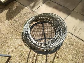 For sale galvanized steel razor wire