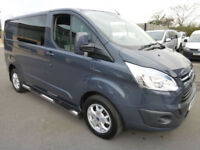 2014 Ford Transit 270 Custom LIMITED L1H1 6 seat CREW TDCi 125ps, LOW MILES