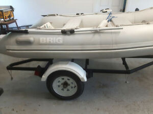 2003 Brig Rid 10ft with Motor & Trailer