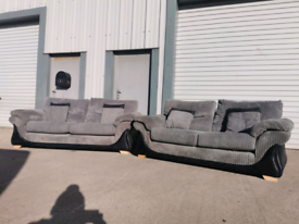 Grey fabric 3+2 seater sofas couches suite 🚚🚚