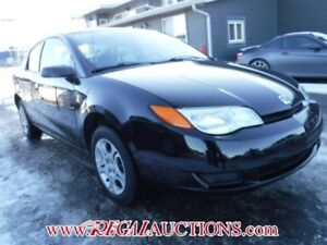 2005 SATURN ION MIDLEVEL 4D QUAD COUPE MIDLEVEL