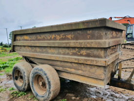 10 ton Thompson dump trailer