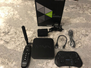 Minix Neo U1 Android TV Box and Measy Keyboard Remote