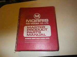 Morris Rod-Weeder Co, Chisel plow parts manual & others