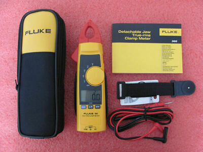 Fluke 365 True-rms Clamp Meter W Detachable Jaw Acdc W Case With Original Box