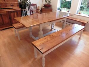 Table and benches 6ft (Free Delivery)