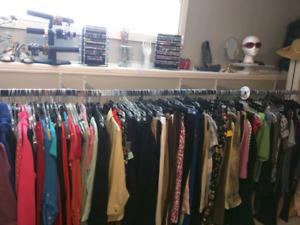 Ladies GIANT Used clothing sale