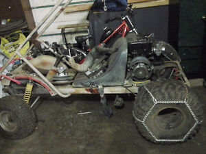 honda dune buggy  with 500cc snowmobile engine