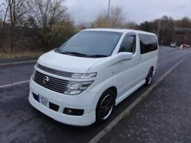 2004 Nissan Elgrand X EDITION SUNROOFS HI GRADE IMPORT 3.5 5dr