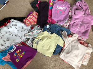 Baby girl clothing - sizes ranging from 6-12 months