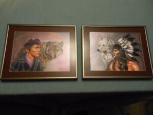 Two Native prints.