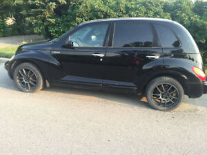 2003 PT Cruiser GT Turbo - (205-50-R17)  $200 for tires/rims