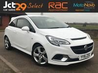 2016 VAUXHALL CORSA 1.6 VXR 202 BHP (NEARLY NEW) VAT QUALIFYING + ONE OWNER