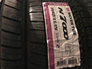 2 pneus été 245/40zr18 neuf