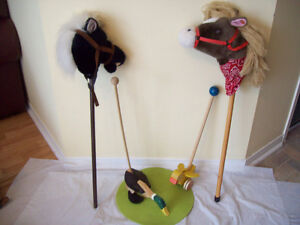 Doll Cradle, Mickey Mouse,horse+DUCK TOY *SEE EACH PRICE