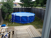 Swimming Pool  (12-ft x 12-ft x 39.5-in)