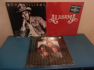 Vinyl Country Records Sealed Alabama, Oak Ridge Boys,D.Williams