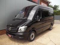 £ 63 A WEEK - 2014 64 REG NEW SHAPE MERCEDES SPRINTER 313 CDI 129 HP MWB VAN