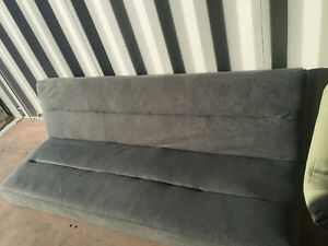 FUTON, GREY COLOR, $150.00, DEL $30 CALL ELIZABETH (204) 229-326